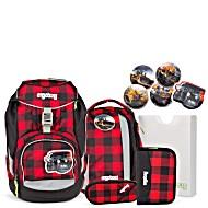 Рюкзак Ergobag LumBearjack с наполнением + светоотражатели в подарок